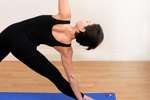 Yoga Triangle Pose Image